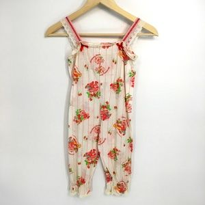 Vintage Strawberry Shortcake Jumpsuit